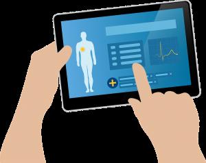 tablet applicatie zorg
