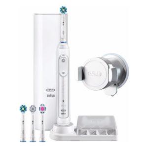 Oral-B Elektrische Tandenborstel inclusief drie opzetstukken en accessoires