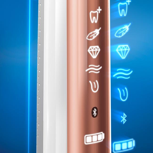 Poetsstanden van elektrische tandenborstels