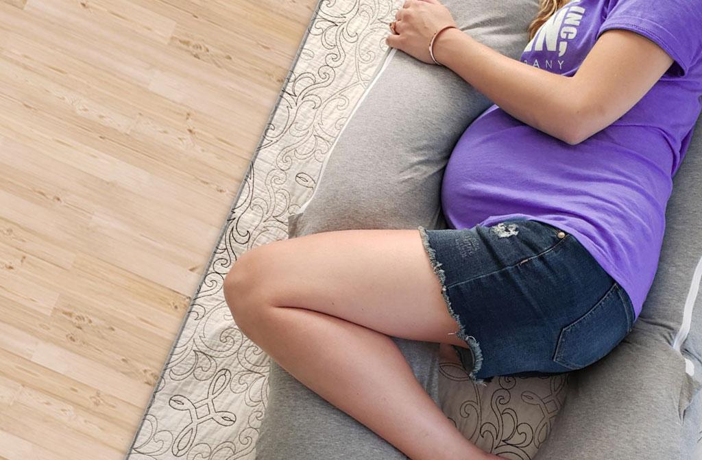 Beste zwangerschapskussens - om te slapen en op de bank