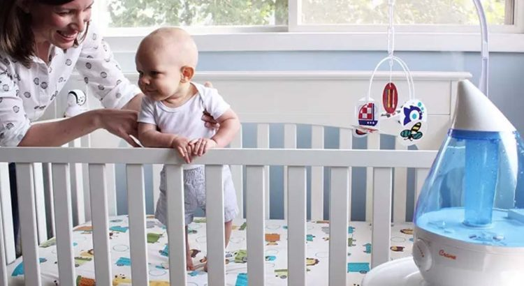 Luchtvochtigheid in de babykamer