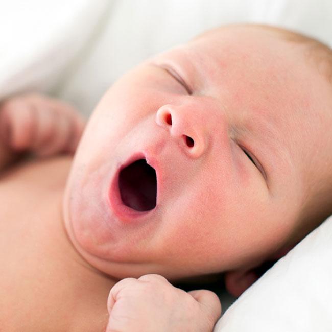 Luchtvochtigheid heeft een effect op de luchtwegen van je baby
