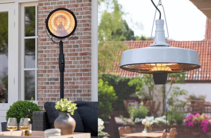 Beste terrasverwarmers voor tuin en balkon