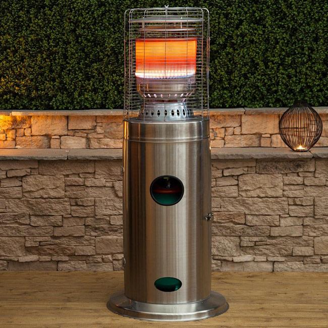 Terrasverwarmer staand - elektrisch of gas