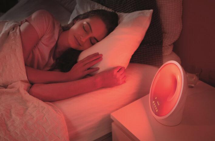 Basis Wake-up Light met touch control en een lichtkleur