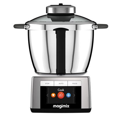 Magimix Cook Expert foodprocessor heeft een kookfunctie
