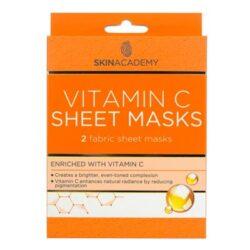 Tegen huidveroudering: Skin Academy Vitamin C Sheet Mask