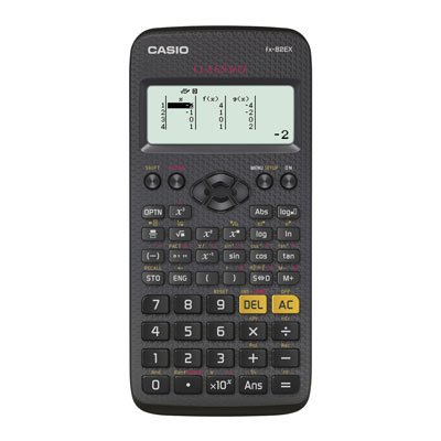 Casio FX-82EX is de beste rekenmachine voor de basisschool, thuis en onderbouw