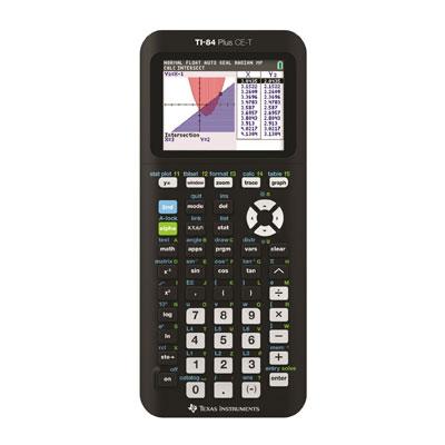 Texas Instruments TI-84 plus CE-T is de beste koop rekenmachine voor eindexamens