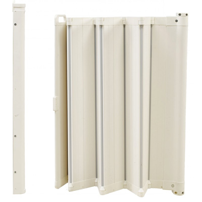 BabyDan Harmonica GuardMe is het ideale opvouwbare traphekje voor brede en dunne deurkozijnen