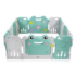 Grondbox, kruipbox, speelbox, playpen, baby, peuter en kind afscherming - Frog