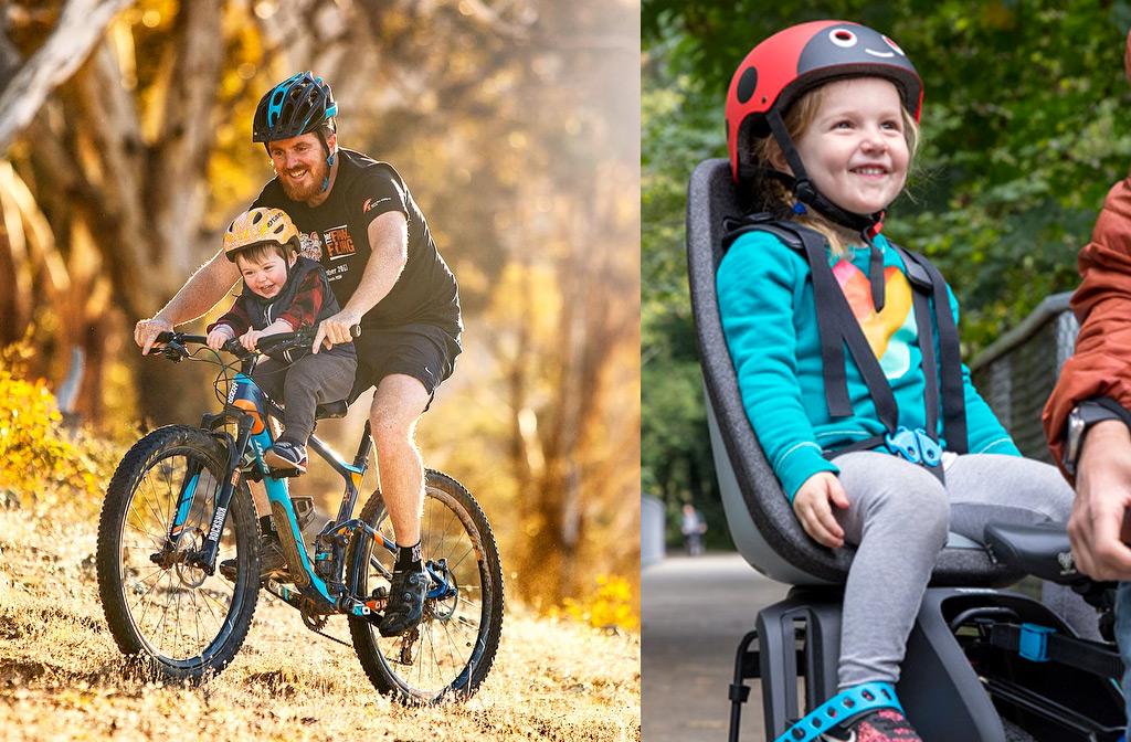 Beste fietsstoeltjes en zitjes voor en achter uit de test