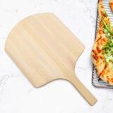 Serveerplank pizzaschep van hout