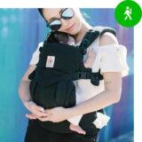 Een buikdrager draagzak voor baby's