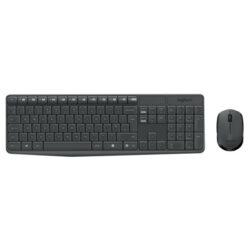 Logitech MK235 Draadloos toetsenbord en muis set