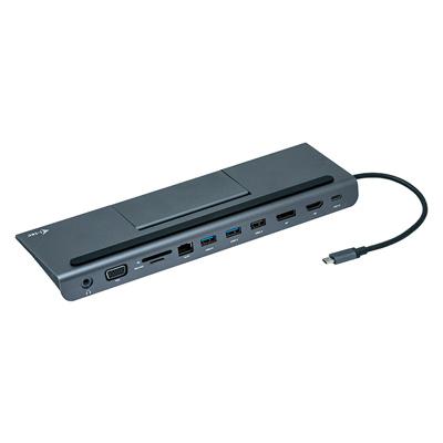 i-tec USB-C Metal Low Profile 4K Triple Display Docking Station