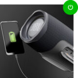 Bluetooth speaker met ingebouwde powerbank