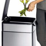 Afvalbak met touch sensor