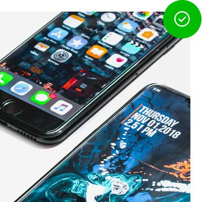 Compatibiliteit met iPhones en Android smartphones