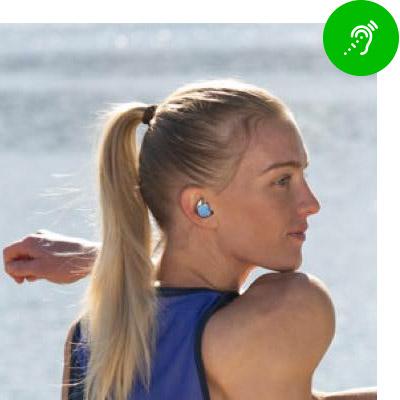 Draadloze in-ear buds