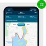 GPS monitor voor hardlopen fietsen