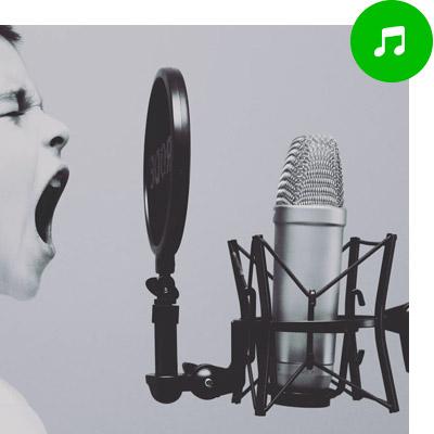 Microfoon kiezen voor zang en muziek