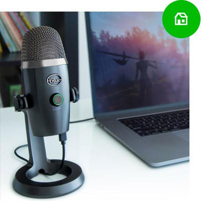 Microfoon voor thuiswerken via Skype, streamen en gamen