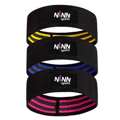 NINN Sports Weerstandenband Bootyband voor de billen