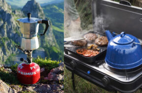 Camping kooktoestel