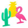 Leuke koelelementen flamingo cactus ananas