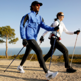 Nordic walking stokken