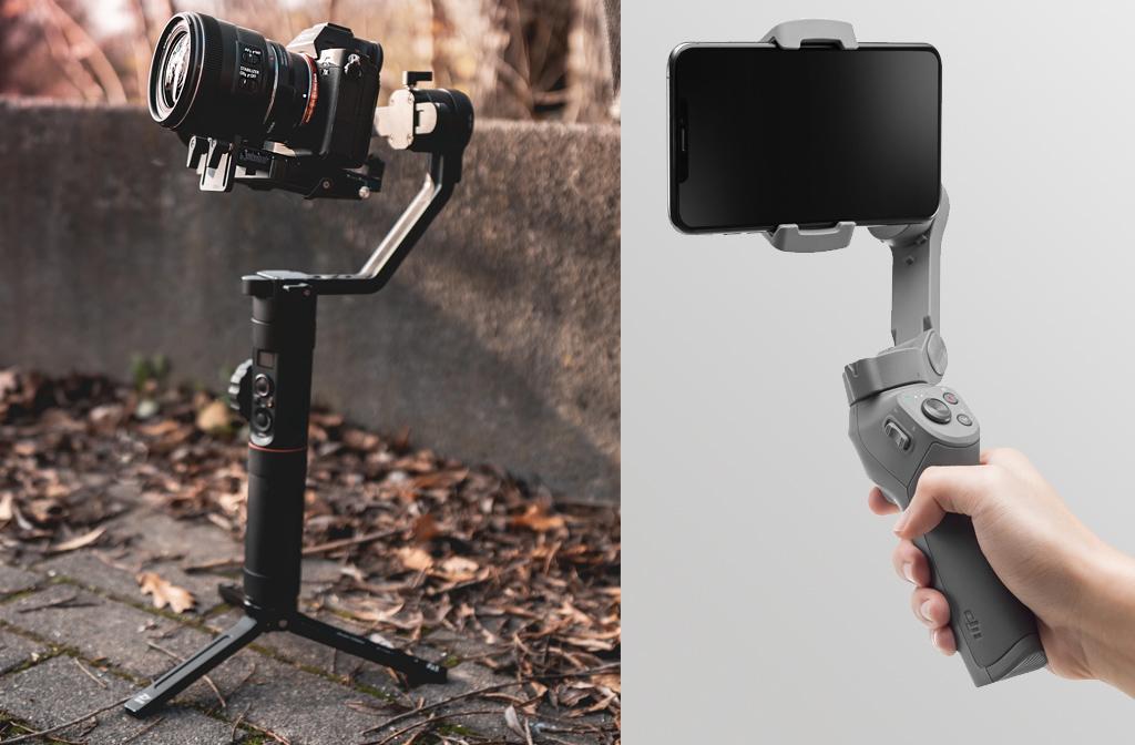 Beste gimbals voor smartphones en cameras
